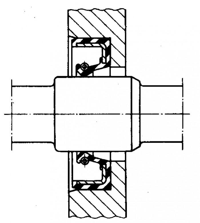 Figur 5.4 Läpptätning