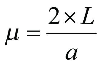 Formel reflektionstid