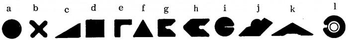 Figur 5.20 Några exempel på sektioner av tätningsringar. (Källa Mayer)