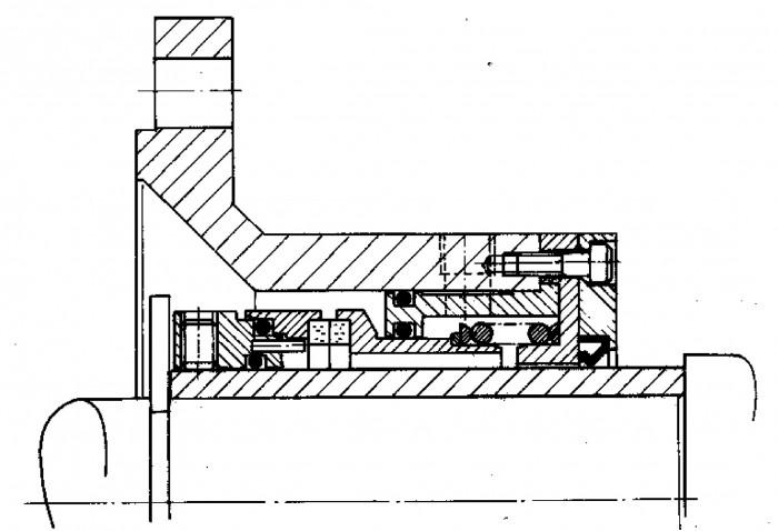 Figur 5.27 Omvänd balanserad tätning för förorenade medier.